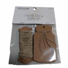 Tag/Rope Kit Tags X12 Rope 5Y