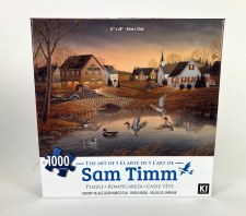 Country Village Green Winged Teal - 1,000 Piece Puzzle