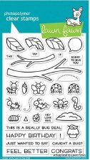 Lawn Fawn A Bug Deal Clear Stamp Set