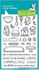 Lawn Fawn A Creature Was Stirring Clear Stamps