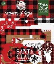A Lumberjack Christmas Die Cuts- Frames & Tags