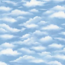 A New Adventure Bolted Fabric- Sky Blue