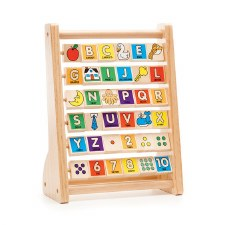 Melissa & Doub Wooden Toy- ABC-123 Abacus