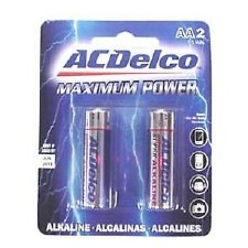 AC Delco AA Batteries - 2 Pack
