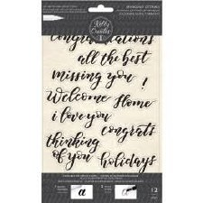 Kelly Creates Traceable Cling Stamps- Bouncy Sentiments