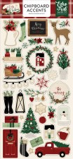 A Cozy Christmas Chipboard Accents