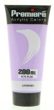 Premiere Acrylic Colors, 200ml- Lavender