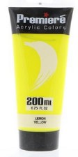 Premiere Acrylic Colors, 200ml- Lemon Yellow