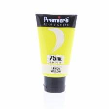 Premiere Acrylic Colors, 75ml- Lemon Yellow