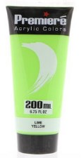 Premiere Acrylic Colors, 200ml- Lime Yellow