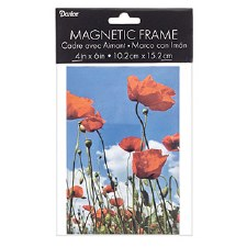 """Clear Acrylic Magnetic Frame, 4x6"""""""