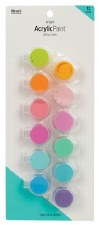 Nicole Acrylic Paint Pots, 12ct- Bright Assortment