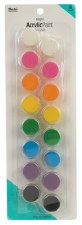 Nicole Acrylic Paint Pots, 16ct- Bright Assortment