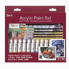 Studio 71 Acrylic Paint Set, 21pc