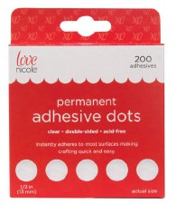 Adhesive Dots 200ct- 1/2""