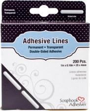 "Scrapbook Adhesives Permanent Adhesive Lines- 1"""