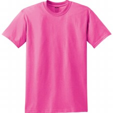 Adult T-Shirt- Safety Pink, Small
