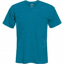 Adult T-Shirt- Heathered Sapphire, Small