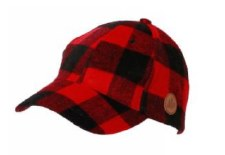 Great Northern Buffalo Check Plaid Winter Cap- Adult