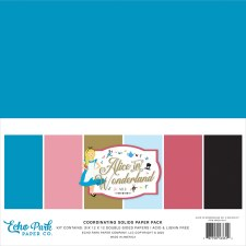 Alice in Wonderland 2 Solid Paper Kit