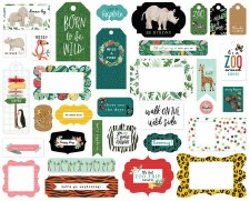 Animal Kingdom Frames & Tags Die Cuts