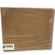 DCWV 12x12 D Ring Album- Natural Burlap