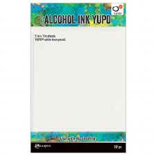 Alcohol Ink Yupo 5x7 Cardstock- 10pk