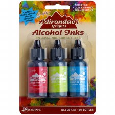 Ranger Alcohol Ink 3 Pack- Dockside Picnic