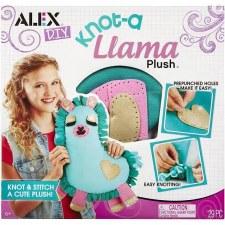 Alex Toys DIY Knot-a-Llama Plush