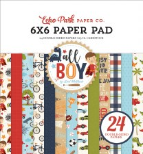 All Boy 6x6 Paper Pad