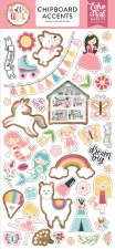 All Girl Chipboard- Accents