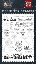 Away in a Manger Designer Stamps- All Is Calm
