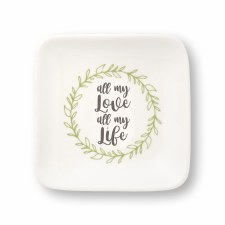 Collins Trinket Tray- All My Love