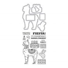 Hero Arts Stamp & Cut Set- Alpaca