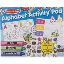 Melissa & Doug Activity Pad- Alphabet