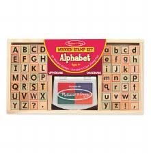 Melissa & Doug Stamp Set, Alphabet