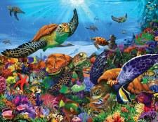 Amazing Sea Turtles - 300 Piece Puzzle