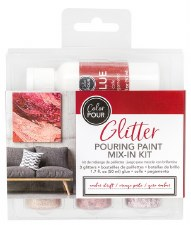 Color Pour Glitter Mix-In Kit- Amber Drift