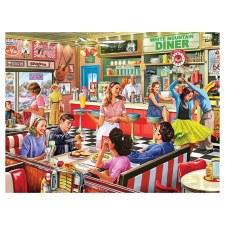 American Diner - 1000 piece puzzle
