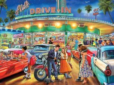 American Drive In- 1000 piece puzzle