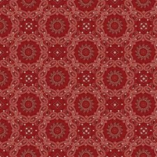 American Legacy Bolted Fabric- Bandana, Red