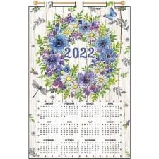 2022 Felt & Sequin Calendar Kit- Anemone Wreath