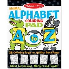 Melissa & Doug Alphabet Coloring Pad- Animals