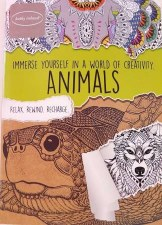 Adult Coloring Book- Animals