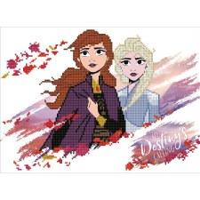 Diamond Facet Art Kit- Disney, Anna & Elsa