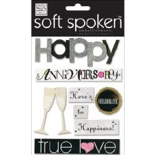 MAMBI Soft Spoken Stickers- Wedding- Anniversary