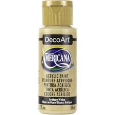 Americana Acrylic Paint, 2oz- Neutrals: Antique White