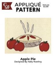 Applique Pattern- Apple Pie