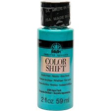 FolkArt Color Shift Metallic Acrylic Paint, 2oz- Aqua Flash