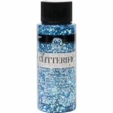 FolkArt Glitterific Glitter Paint, 2 oz- Aqua